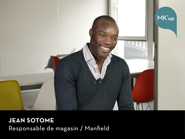 Jean Sotome - Responsable de magasin / Manfield